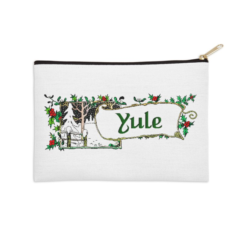 Yule Accessories Zip Pouch by The Ways of The Old's Artist Shop
