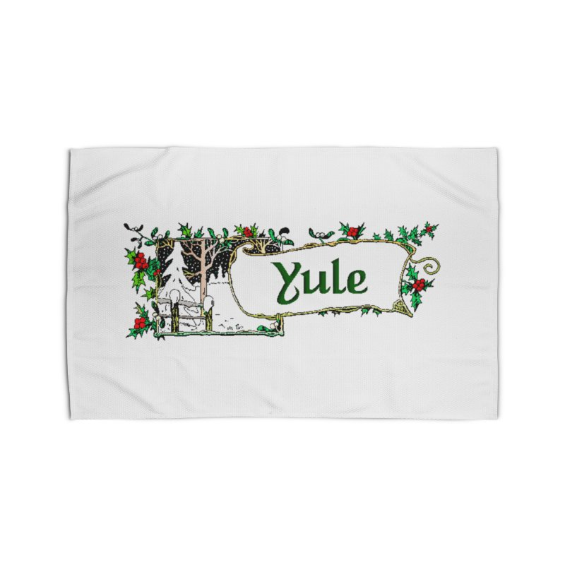 Yule Home Rug by The Ways of The Old's Artist Shop