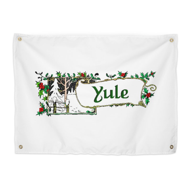 Yule Home Tapestry by The Ways of The Old's Artist Shop