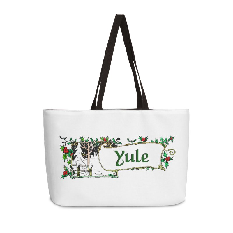 Yule Accessories Weekender Bag Bag by The Ways of The Old's Artist Shop