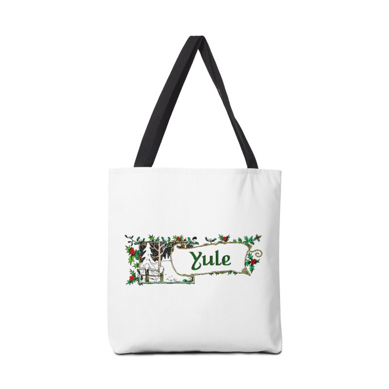 Yule Accessories Tote Bag Bag by The Ways of The Old's Artist Shop