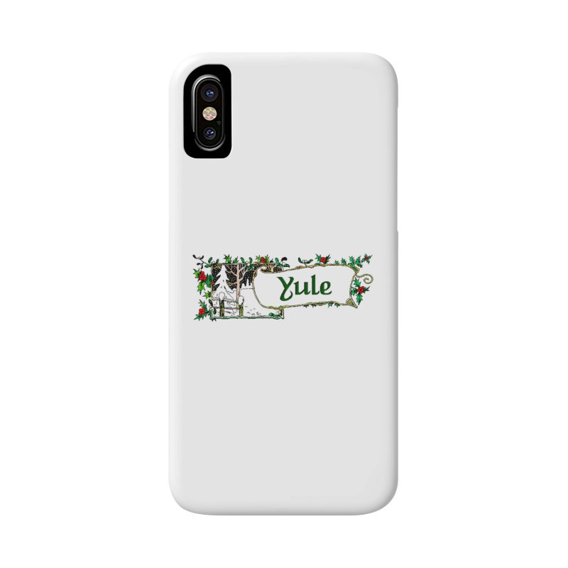 Yule Accessories Phone Case by The Ways of The Old's Artist Shop
