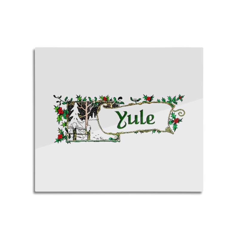 Yule Home Mounted Acrylic Print by The Ways of The Old's Artist Shop