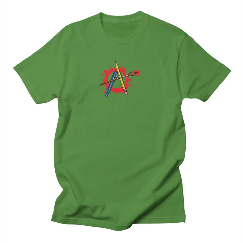 Art Anarchy Women's Unisex T-Shirt by thewendylady's Artist Shop