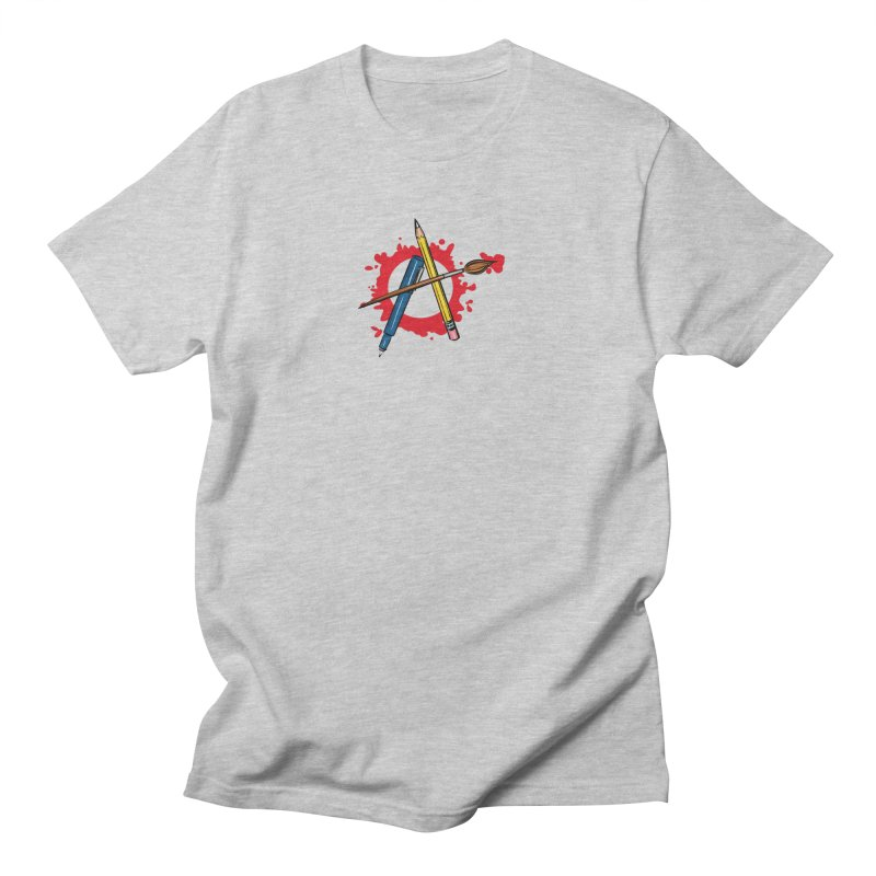 Art Anarchy Men's T-Shirt by thewendylady's Artist Shop