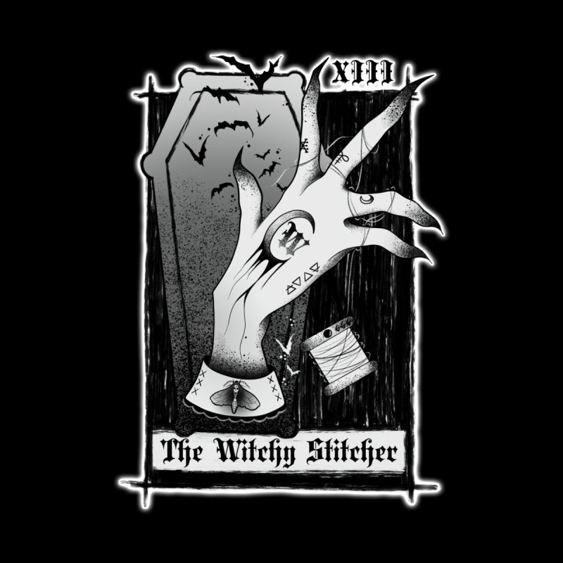 Witchy Stitcher Logo Apparel by The Witchy Stitcher's Artist Shop