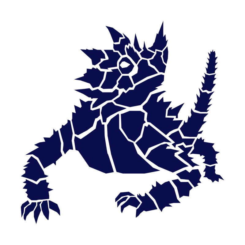 Thorny Devil (Navy Design) by The Wood Knights Merch Store