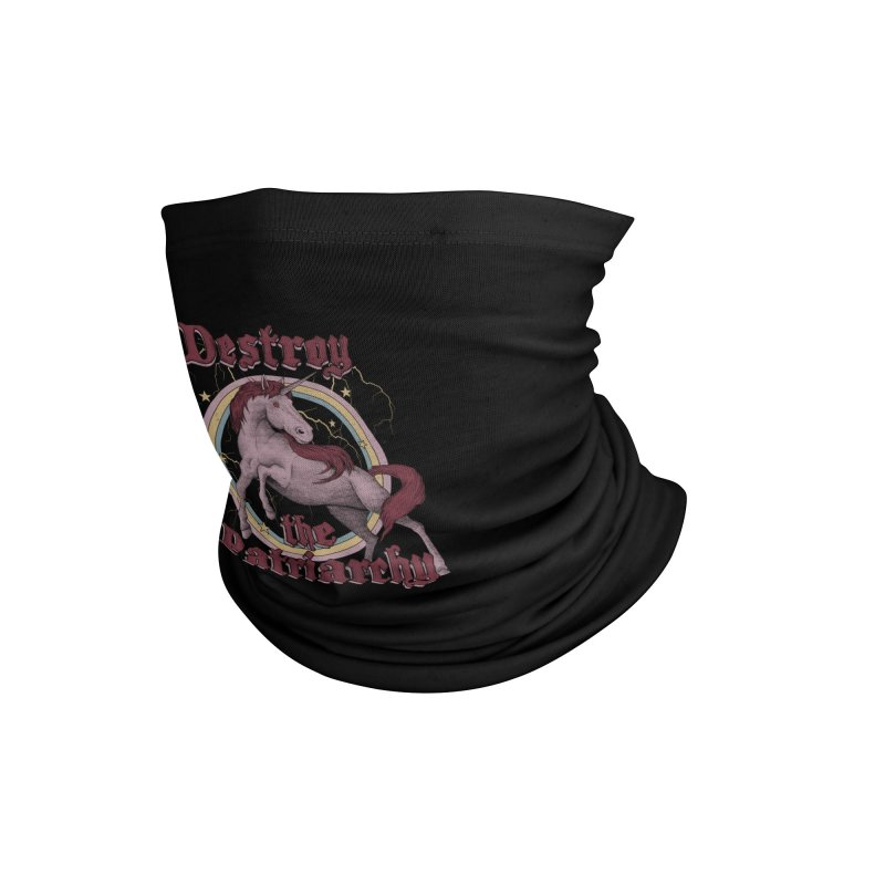 Destroy the Patriarchy Accessories Neck Gaiter by