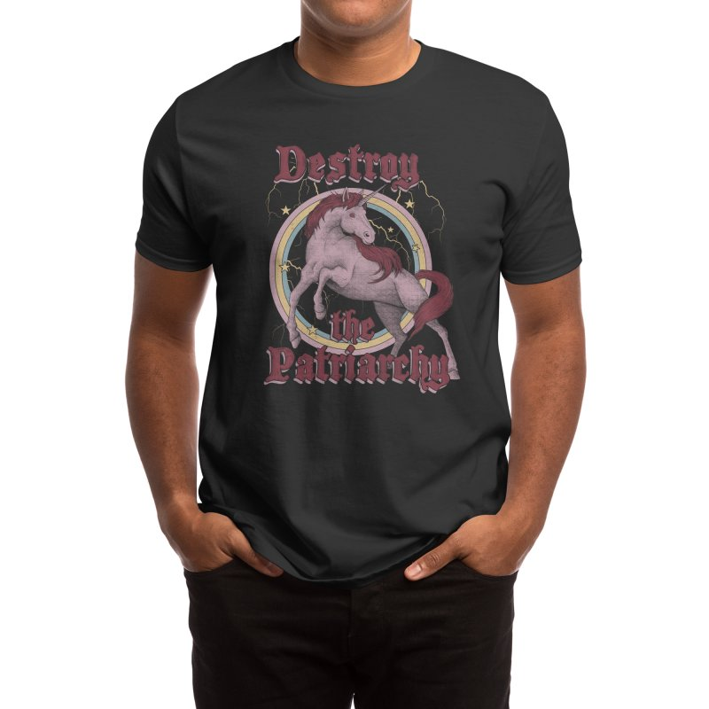 Destroy the Patriarchy Men's T-Shirt by Thiago Corrêa