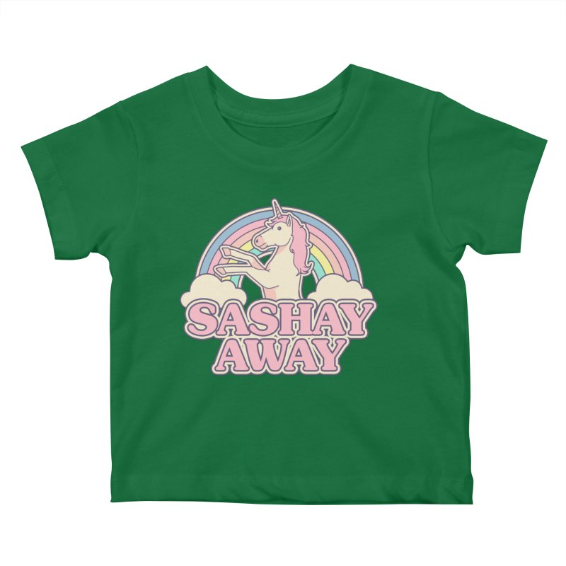 Sashay Away Kids Baby T-Shirt by Thiago Corrêa