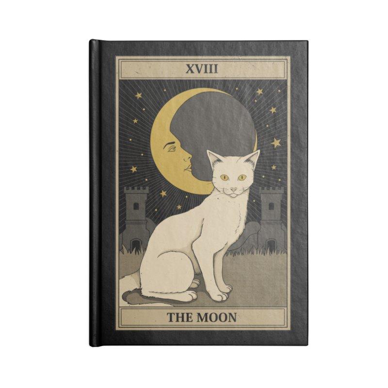 The Moon Accessories Notebook by Thiago Corrêa