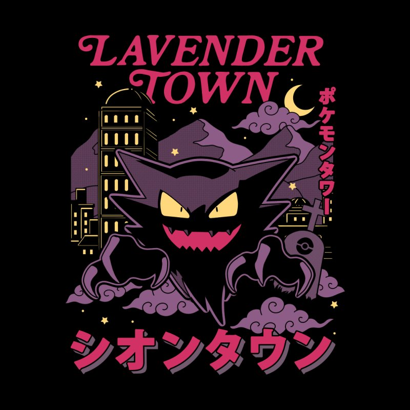 Lavender Town Women's Zip-Up Hoody by Thiago Corrêa