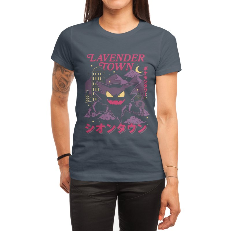 Lavender Town Women's T-Shirt by Thiago Corrêa