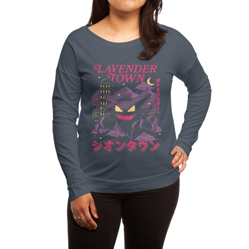 Lavender Town Women's Longsleeve T-Shirt by Thiago Corrêa