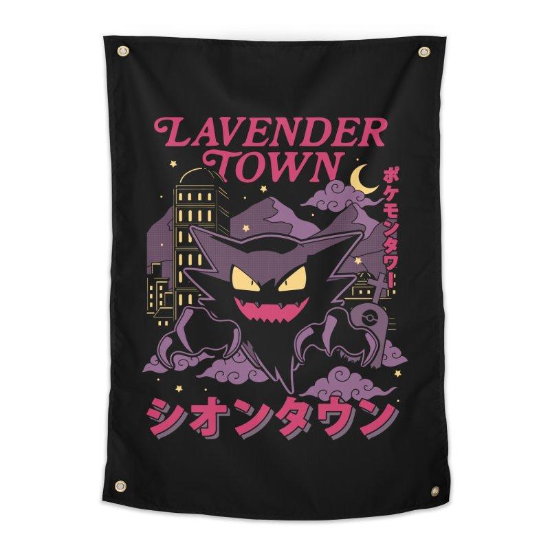 Lavender Town Home Tapestry by Thiago Corrêa