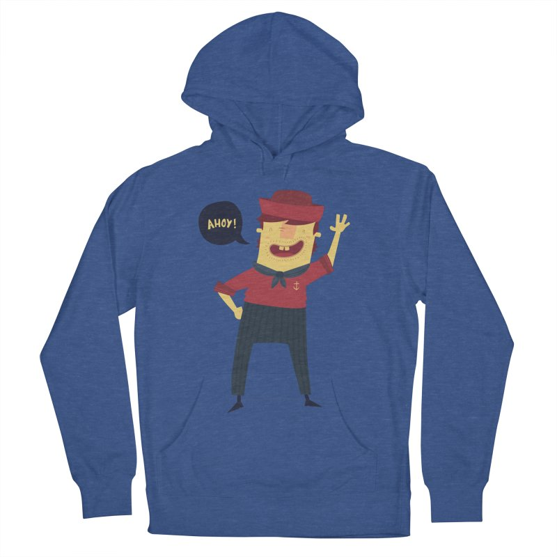 Ahoy! Women's French Terry Pullover Hoody by thiagoegg's Artist Shop