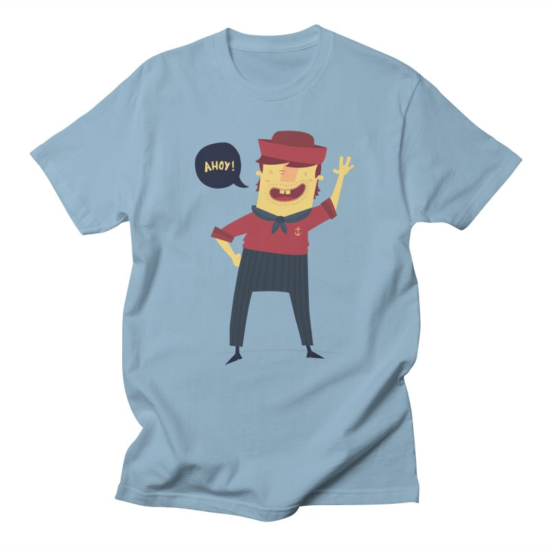 Ahoy! Men's T-shirt by thiagoegg's Artist Shop