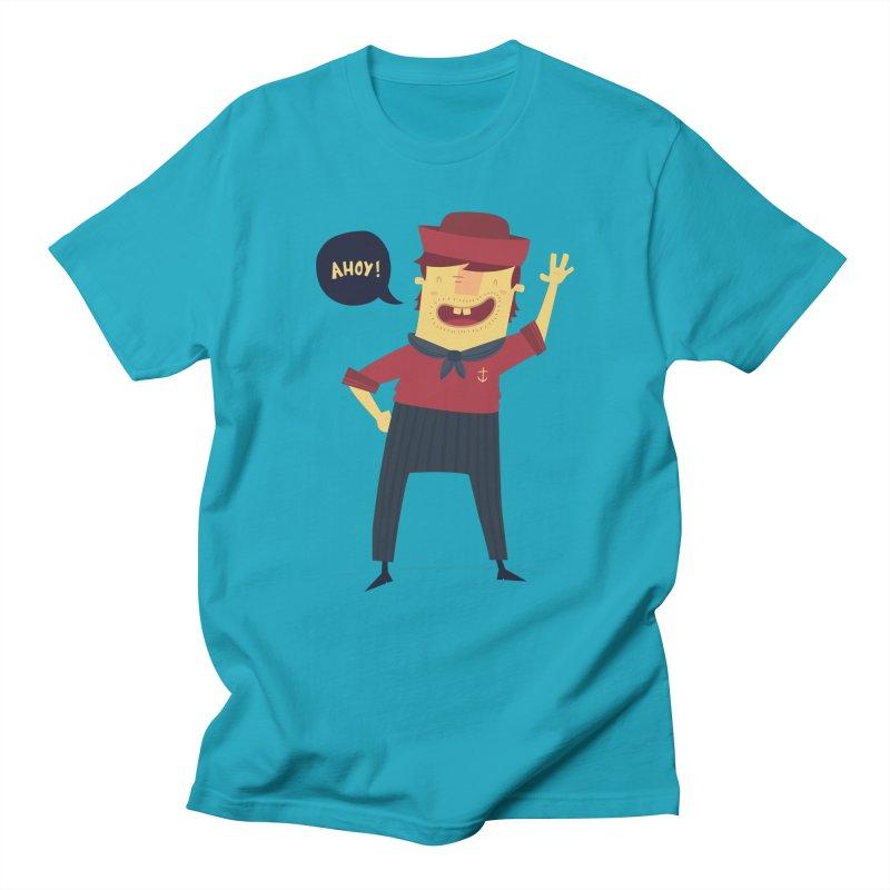 Ahoy! Men's Regular T-Shirt by thiagoegg's Artist Shop