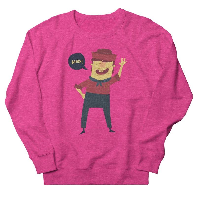 Ahoy! Men's French Terry Sweatshirt by thiagoegg's Artist Shop