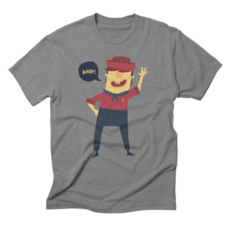 Ahoy! Men's Triblend T-shirt by thiagoegg's Artist Shop