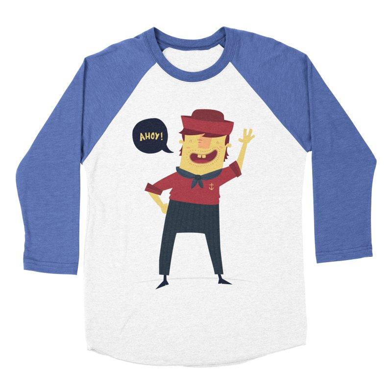 Ahoy! Women's Baseball Triblend Longsleeve T-Shirt by thiagoegg's Artist Shop
