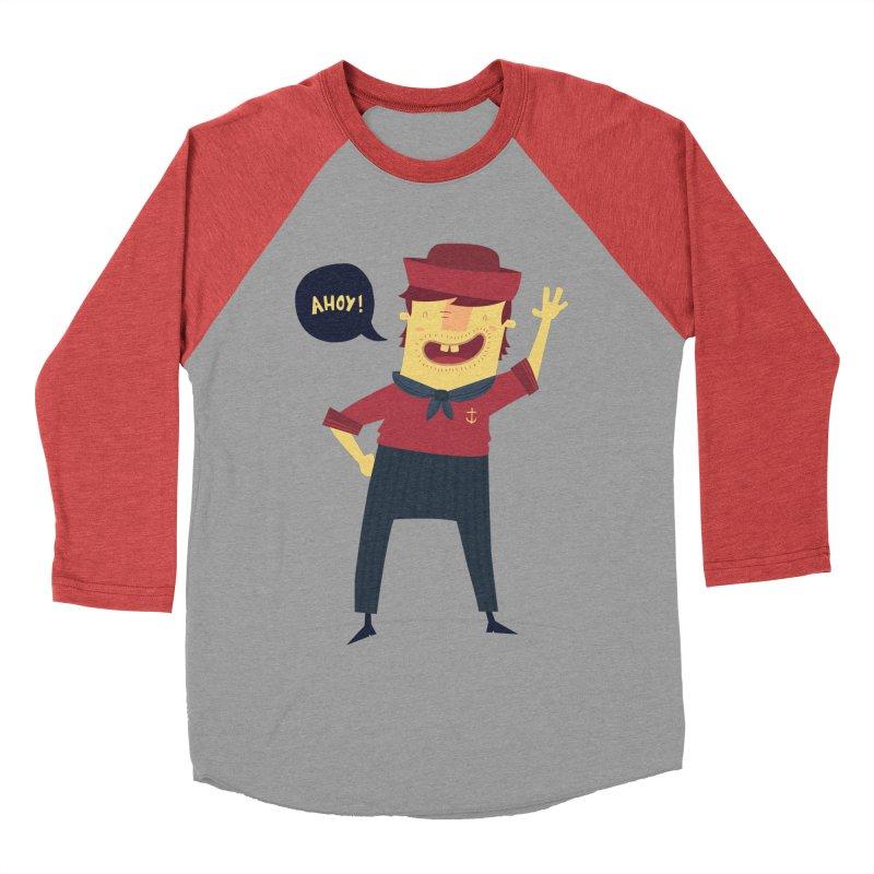 Ahoy! Men's Baseball Triblend Longsleeve T-Shirt by thiagoegg's Artist Shop