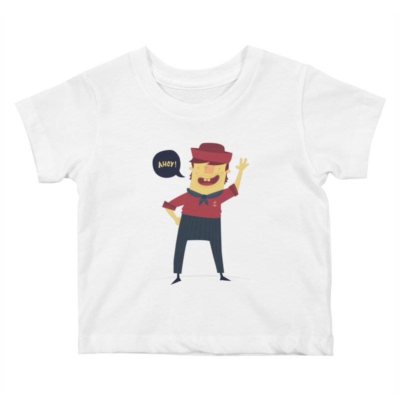 Ahoy! Kids Baby T-Shirt by thiagoegg's Artist Shop