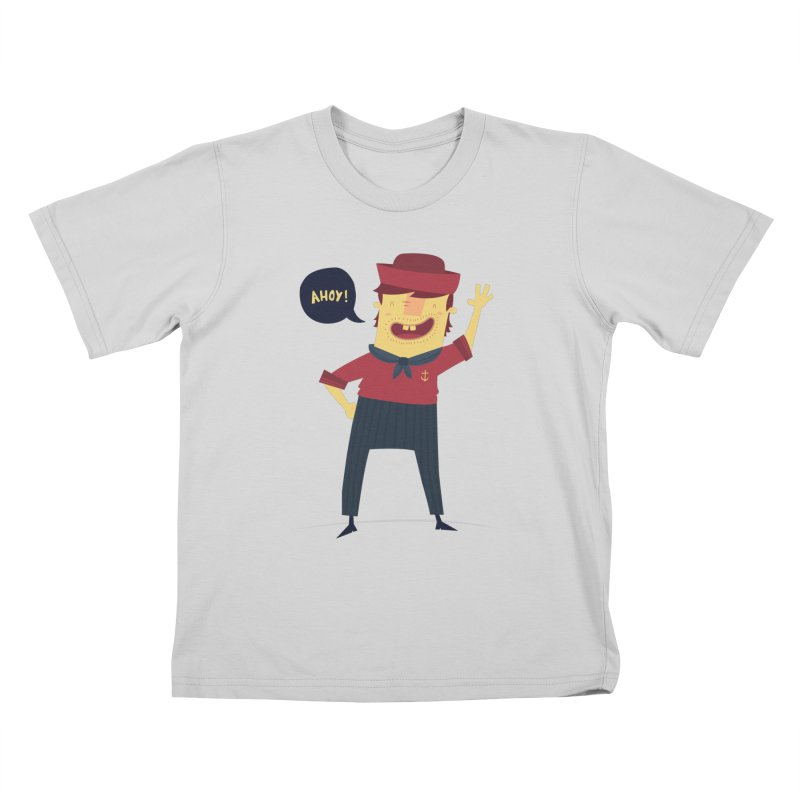Ahoy! Kids T-Shirt by thiagoegg's Artist Shop