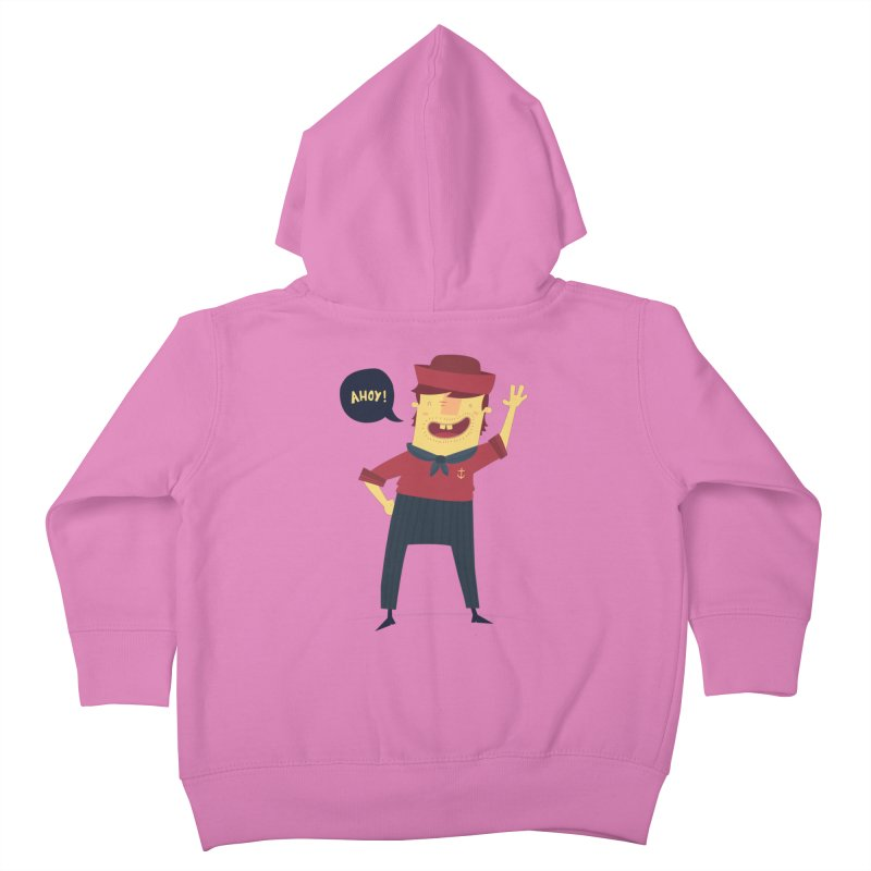 Ahoy! Kids Toddler Zip-Up Hoody by thiagoegg's Artist Shop