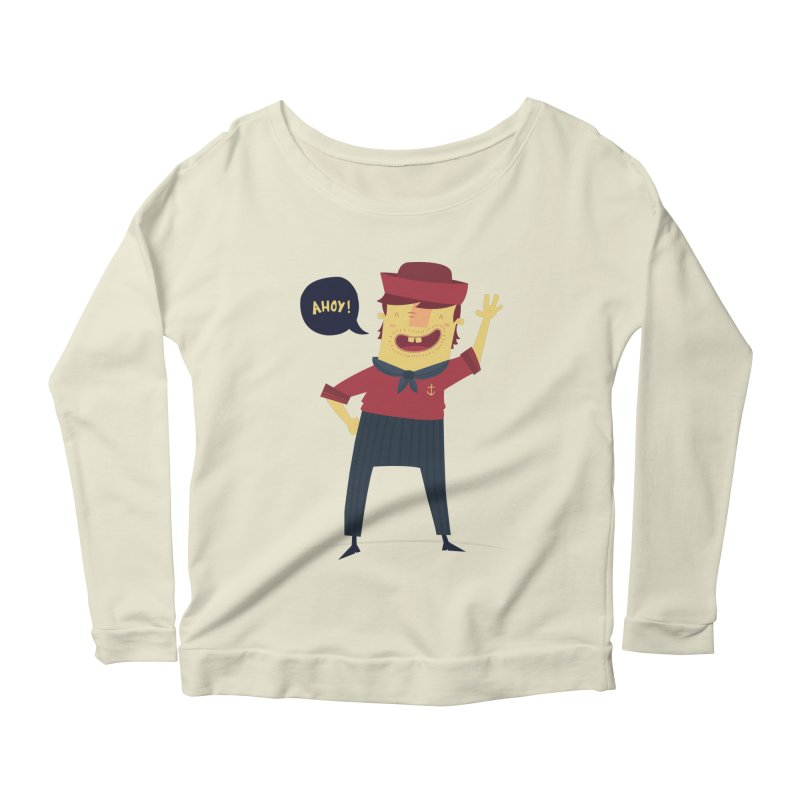 Ahoy! Women's Scoop Neck Longsleeve T-Shirt by thiagoegg's Artist Shop