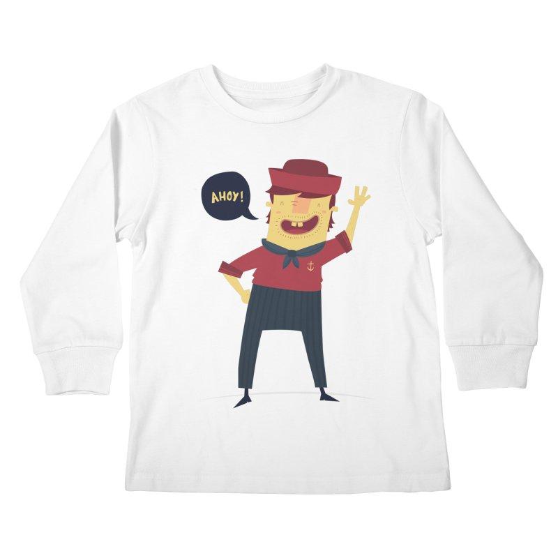 Ahoy! Kids Longsleeve T-Shirt by thiagoegg's Artist Shop
