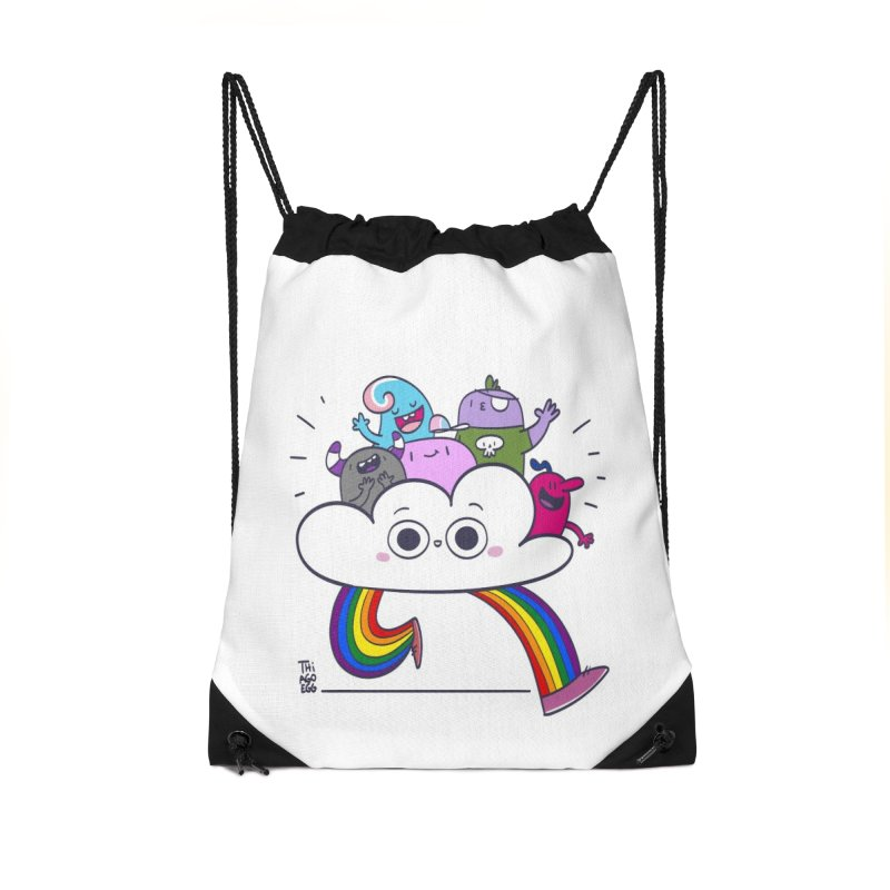 Cloud of diversity Accessories Drawstring Bag Bag by thiagoegg's Artist Shop