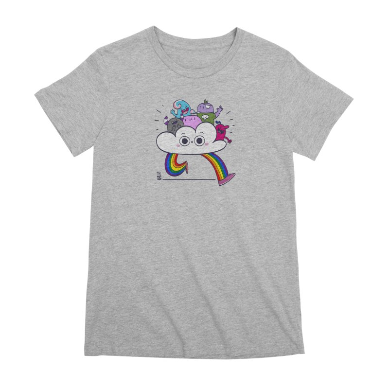 Cloud of diversity Women's Premium T-Shirt by thiagoegg's Artist Shop