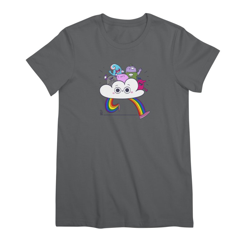 Cloud of diversity Women's T-Shirt by thiagoegg's Artist Shop