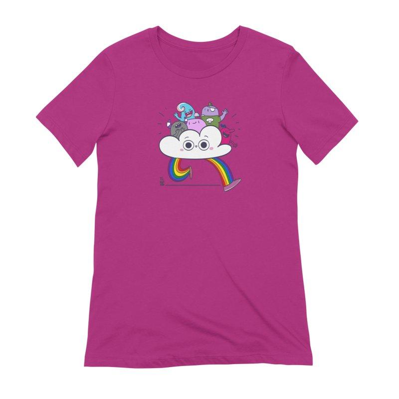 Cloud of diversity Women's Extra Soft T-Shirt by thiagoegg's Artist Shop