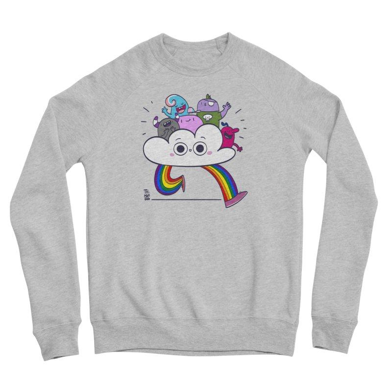 Cloud of diversity Women's Sponge Fleece Sweatshirt by thiagoegg's Artist Shop