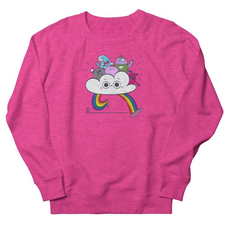 Cloud of diversity Women's French Terry Sweatshirt by thiagoegg's Artist Shop