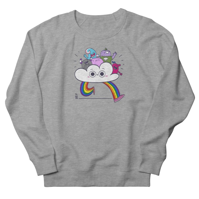 Cloud of diversity Men's French Terry Sweatshirt by thiagoegg's Artist Shop