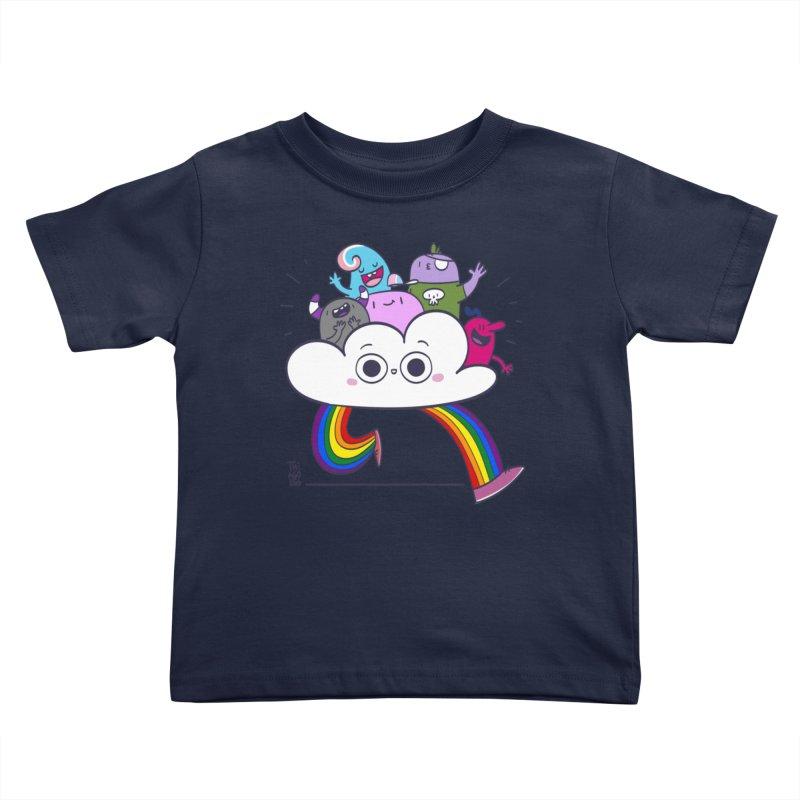 Cloud of diversity Kids Toddler T-Shirt by thiagoegg's Artist Shop