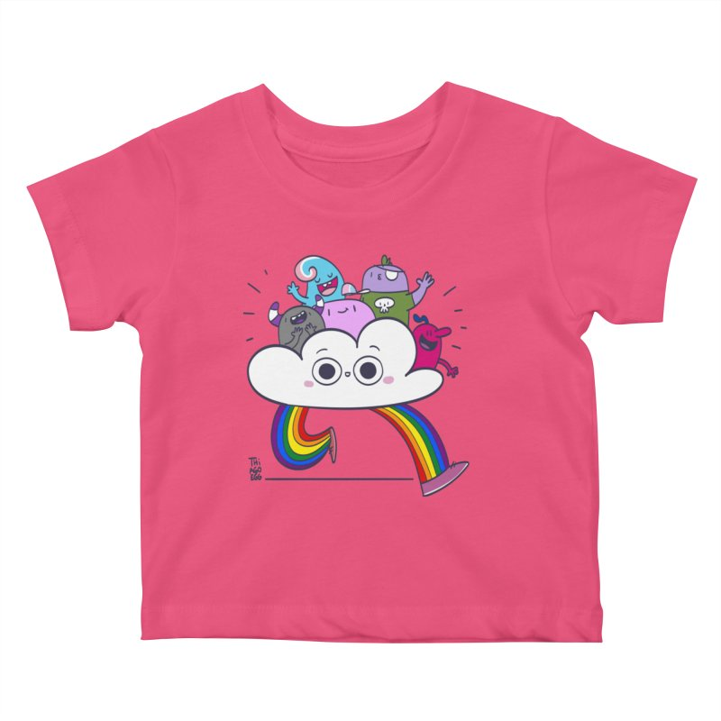 Cloud of diversity Kids Baby T-Shirt by thiagoegg's Artist Shop