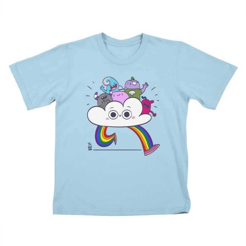 Cloud of diversity Kids T-Shirt by thiagoegg's Artist Shop