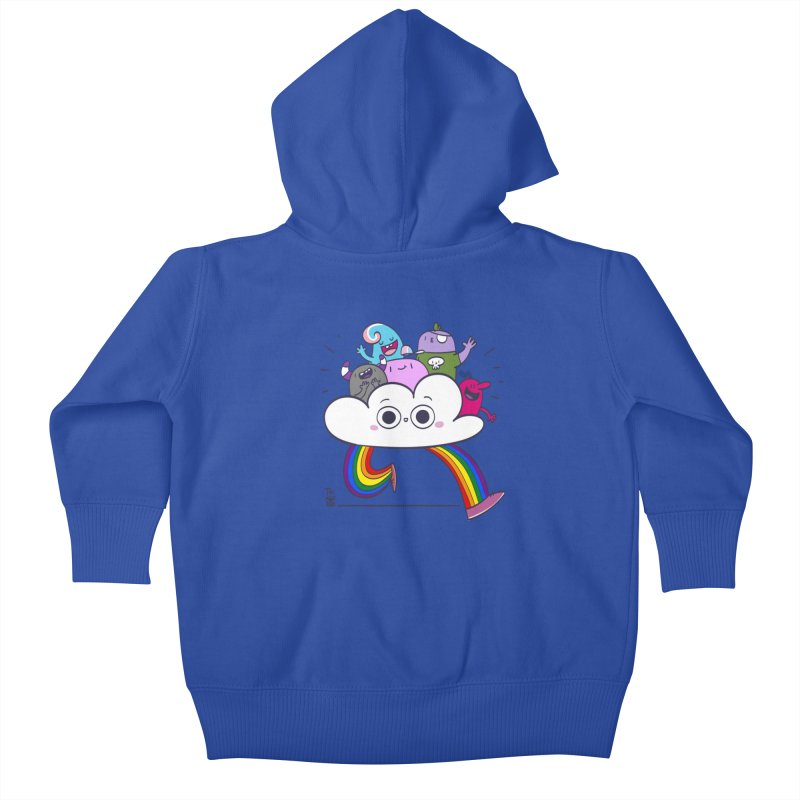 Cloud of diversity Kids Baby Zip-Up Hoody by thiagoegg's Artist Shop