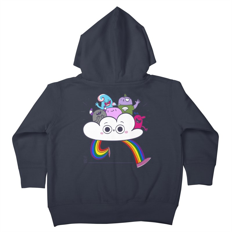 Cloud of diversity Kids Toddler Zip-Up Hoody by thiagoegg's Artist Shop