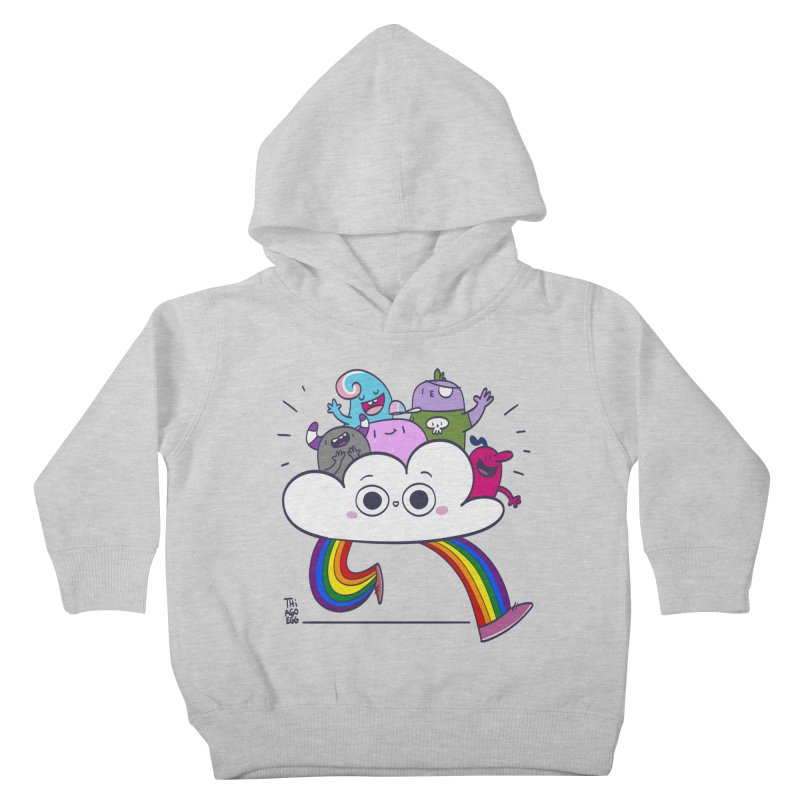 Cloud of diversity Kids Toddler Pullover Hoody by thiagoegg's Artist Shop