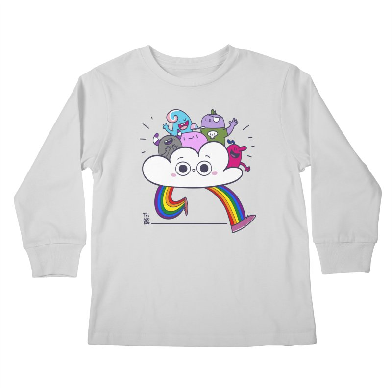 Cloud of diversity Kids Longsleeve T-Shirt by thiagoegg's Artist Shop