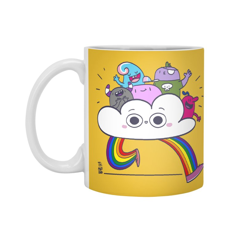 Cloud of diversity Accessories Standard Mug by thiagoegg's Artist Shop