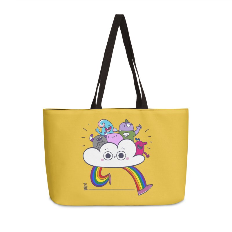 Cloud of diversity Accessories Weekender Bag Bag by thiagoegg's Artist Shop