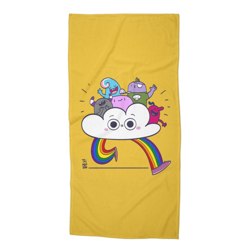 Cloud of diversity Accessories Beach Towel by thiagoegg's Artist Shop