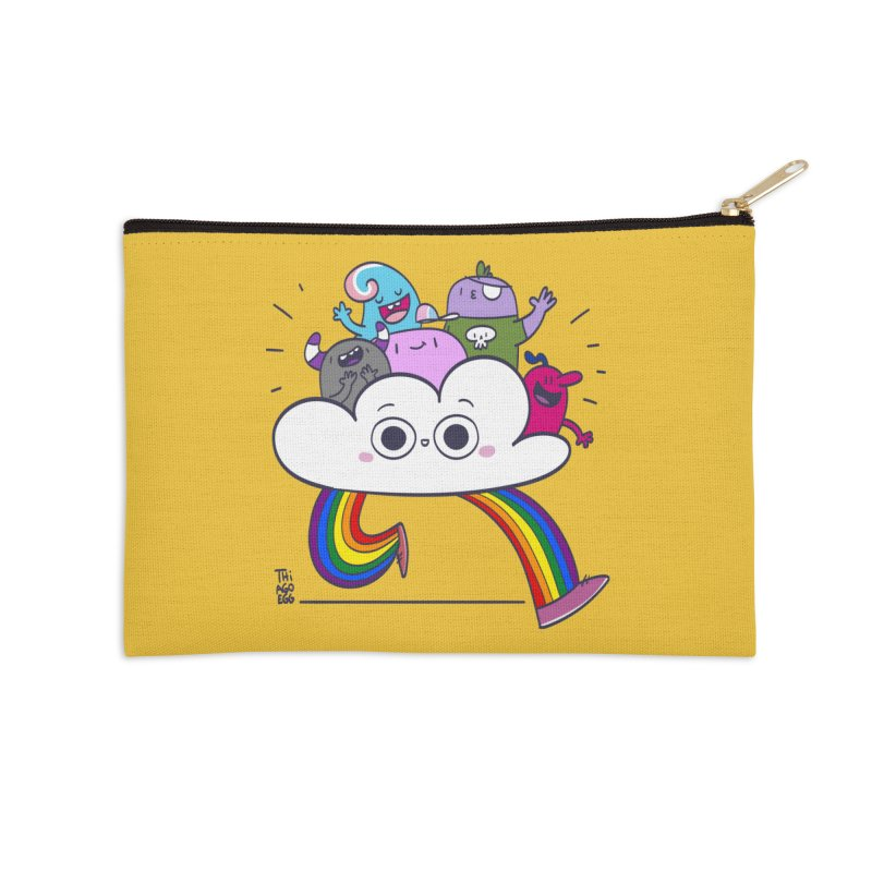 Cloud of diversity Accessories Zip Pouch by thiagoegg's Artist Shop