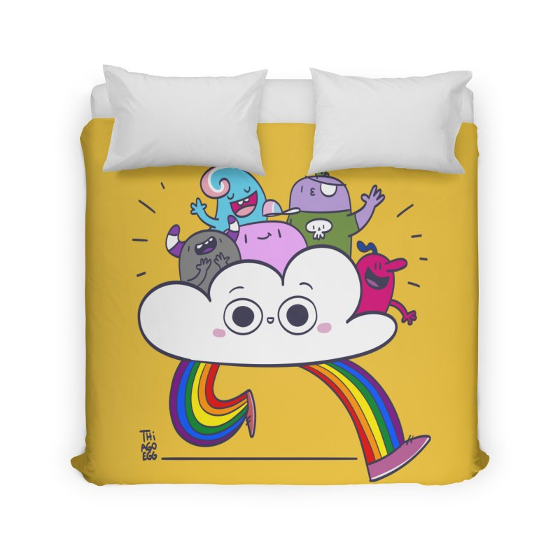 Cloud of diversity Home Duvet by thiagoegg's Artist Shop